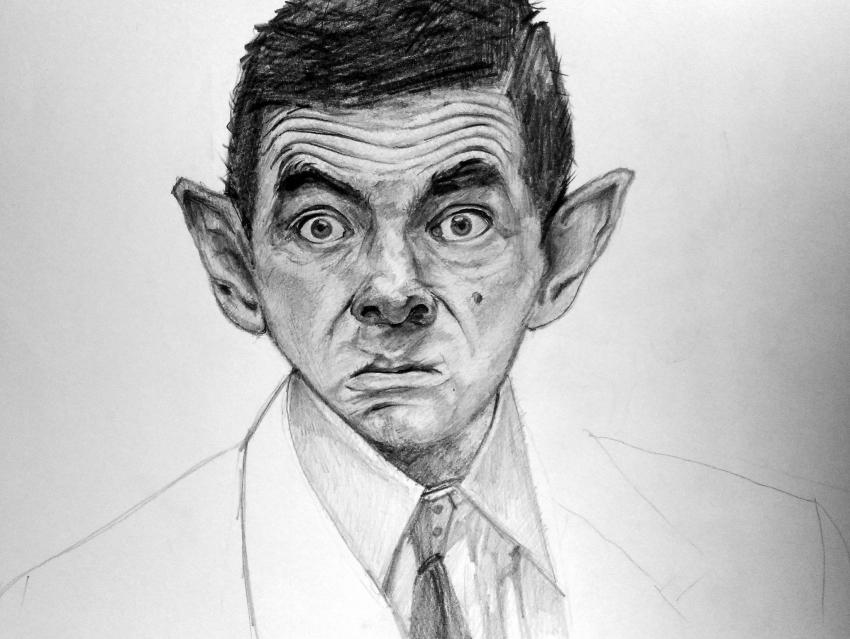 Rowan Atkinson por linshyhchyang